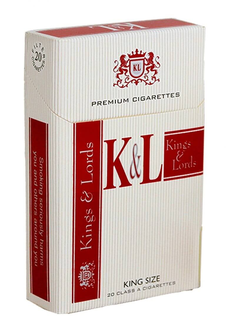 Kings & Lords tobacco packaging