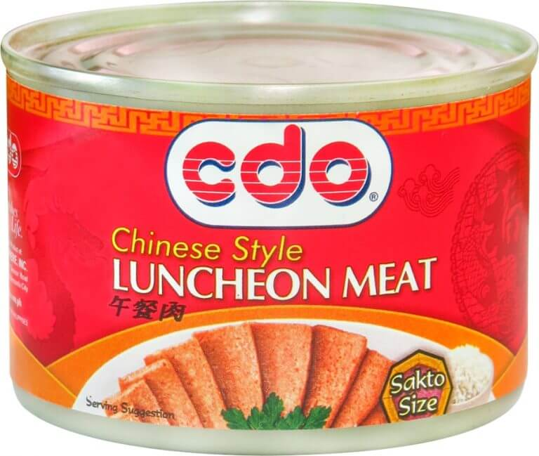 cdo luncheon meat label packaging