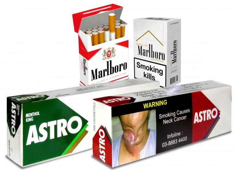 marlboro cigarette box packaging