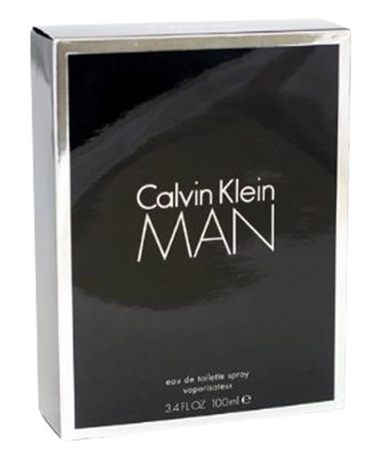 Calvin Klein retail packaging