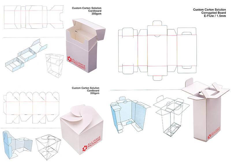 custom carton solutions e-flute