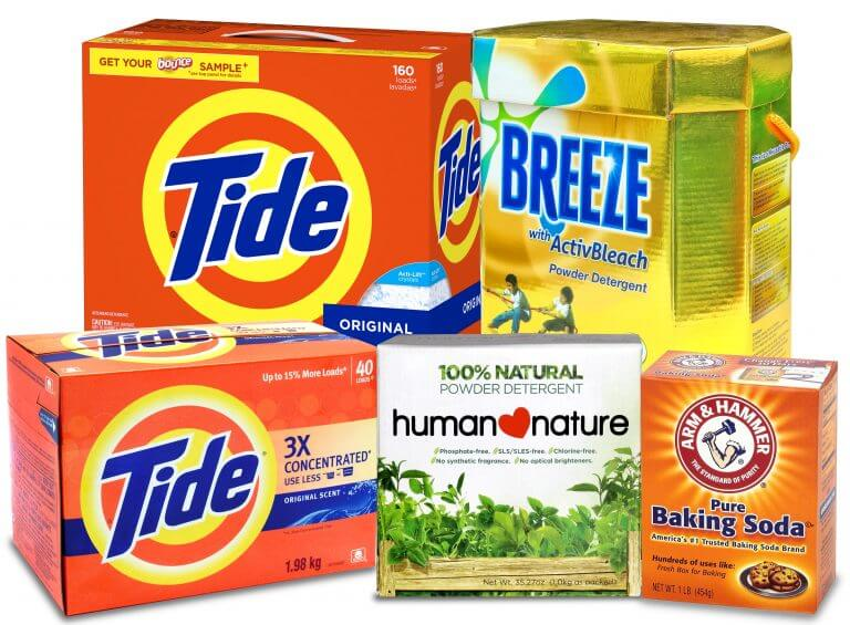 household products box packaging