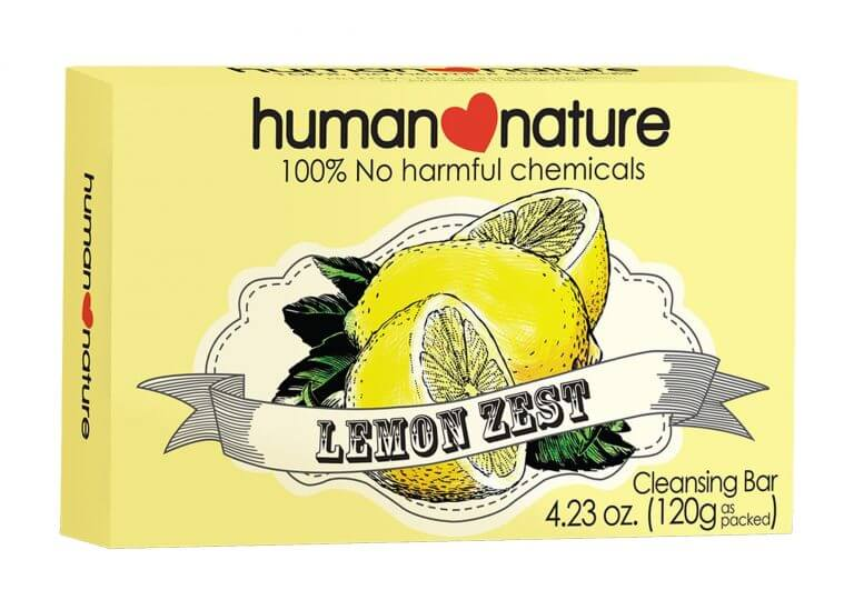human nature box packaging