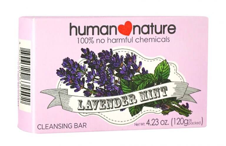 human nature product packaging