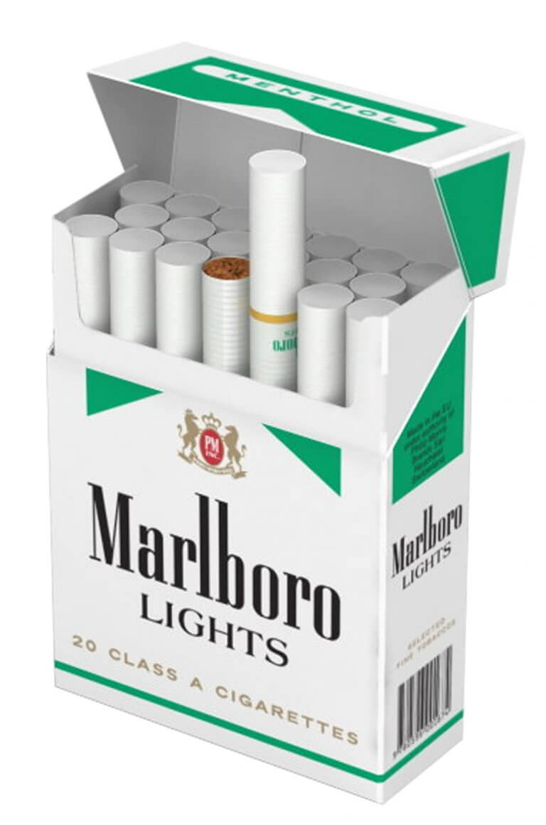 marlboro lights tobacco packaging