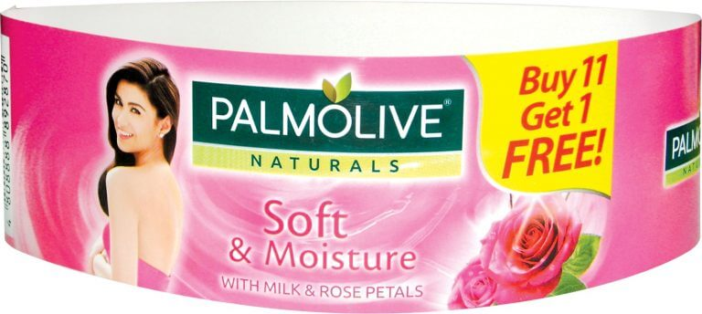 palmolive product sleeve