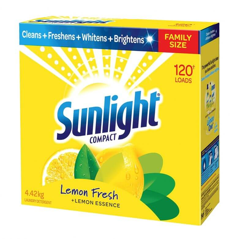 sunlight compact box packaging