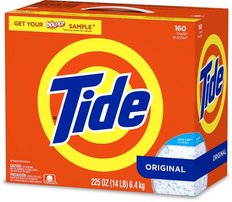 tide box packaging