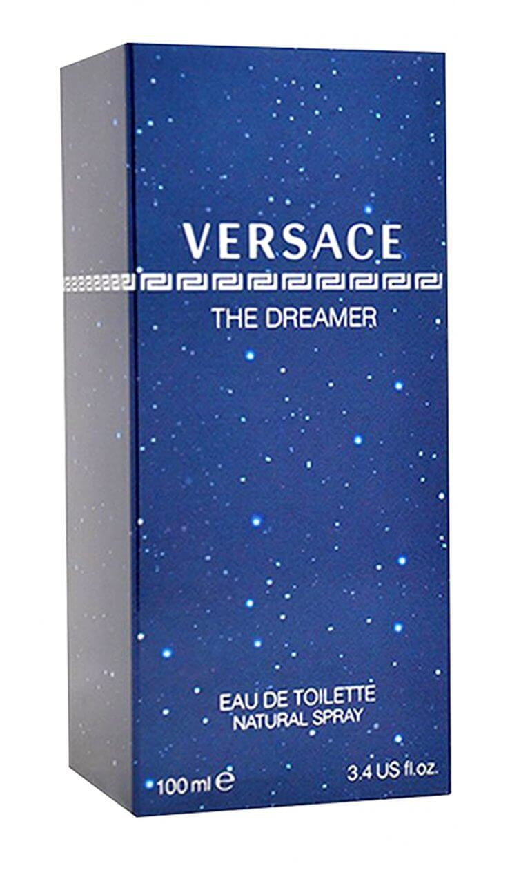 versache blue product packaging