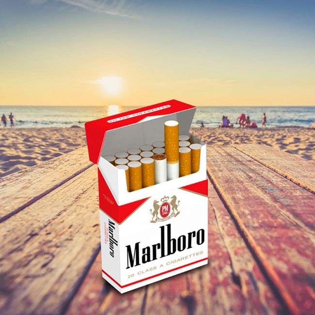 Marlboro product packaging