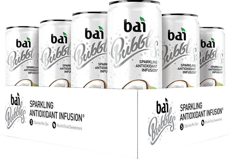 bai bubbles product packaging
