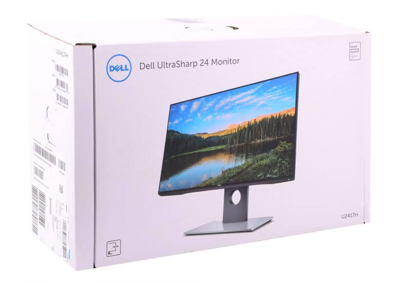 dell monitor product packaging