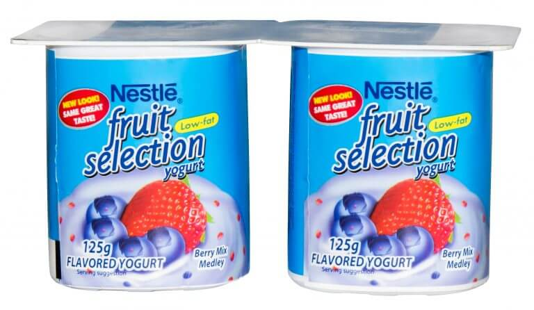 nestle fruit yogurt logo