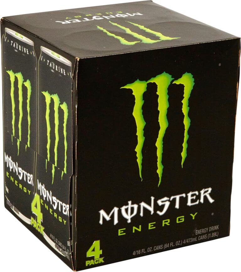 monster energy drink product packaging