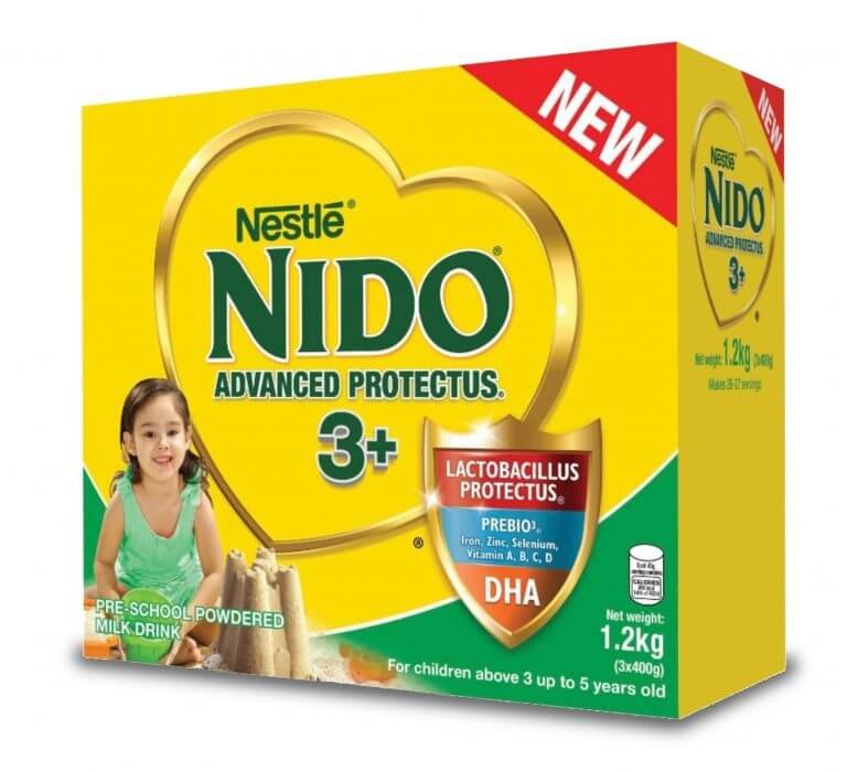 nido milk boxes