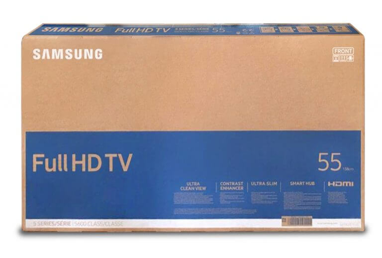 samsung TV packaging solutions