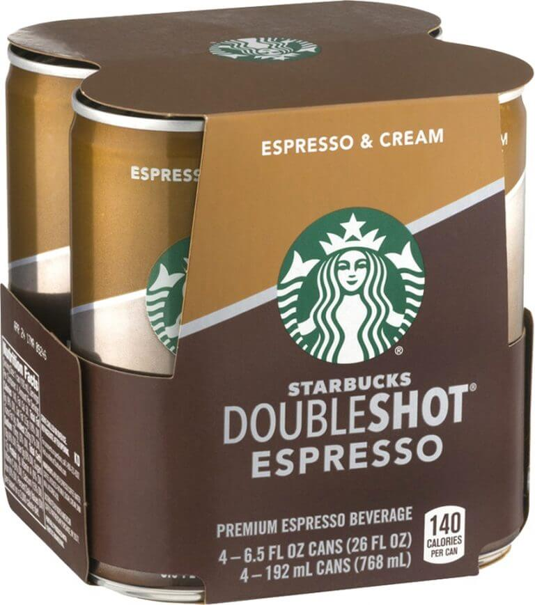 starbucks doubleshot espresso packaging