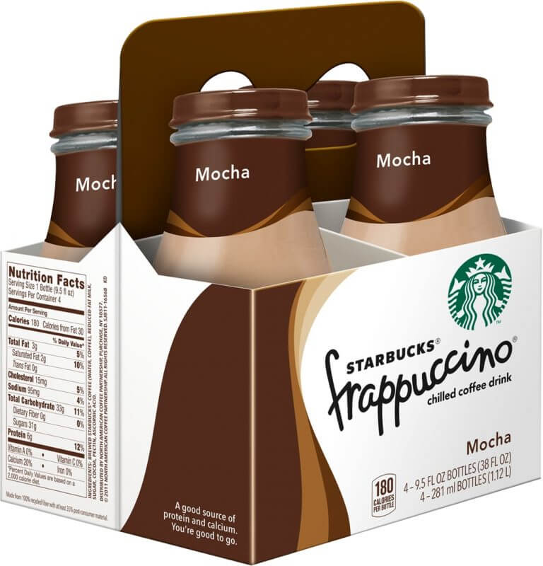 starbucks frappuccino boxes packaging solutions